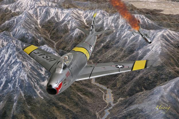 F-86 Sabre vs Mig-15 Korean War