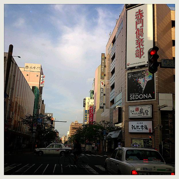 Photos: すすきの来たょ~(*ノ∀`)って人を送りに来ただけΣ( ̄ロ ̄lll) ガビーン
