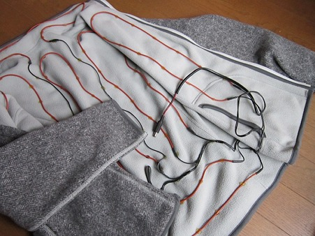 手作り電熱ジャケット