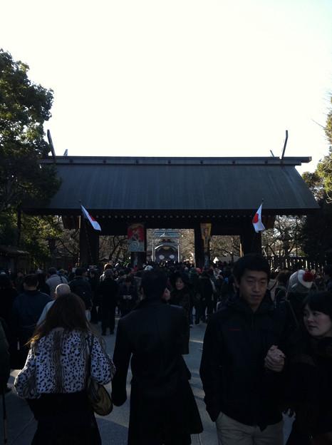 靖国神社で初詣!