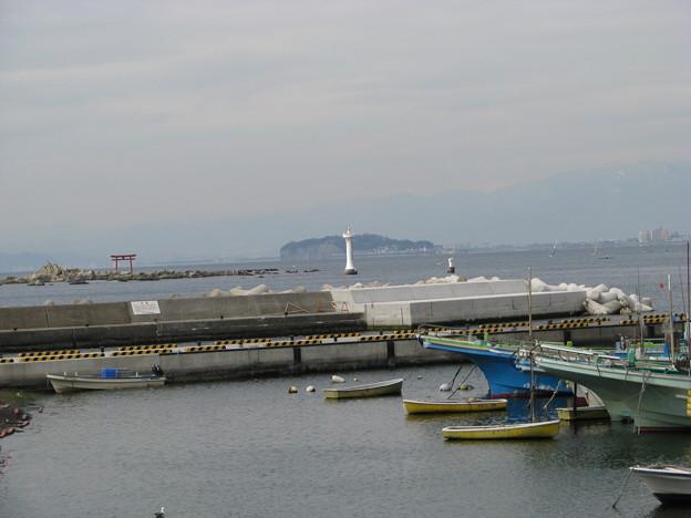 裕次郎灯台・森戸神社・江ノ島
