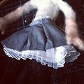 写真: プリーツスカート