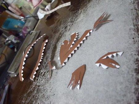 鱼的立体结构模型制作