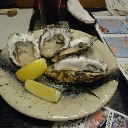 生牡蠣…かきと旬鮮料理とそばの店「開」