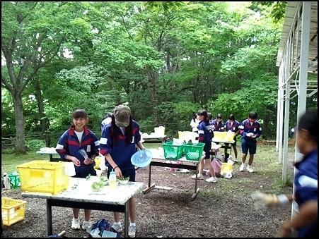 富士見中 飯盒炊爨 (2)
