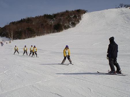 太平中スキー実習 (3)