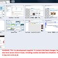 写真: Opera 11 Beta Build 1145:タブを沢山スタッキング!(拡大)