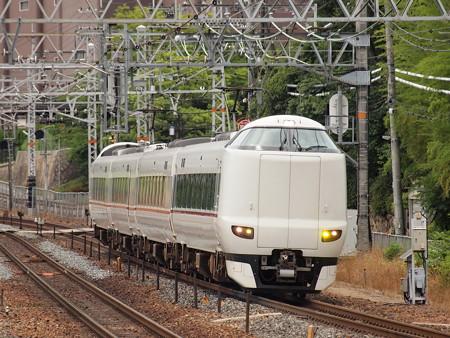 287系回送 東海道本線山崎駅