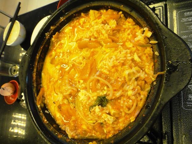 韓国包菜鍋 加米飯