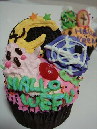 ハロウィンカップケーキ@THE BEST CHEESE CAKES