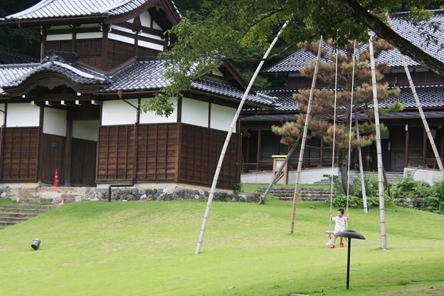 竹のぶらんこ(3) 湯涌創作の森