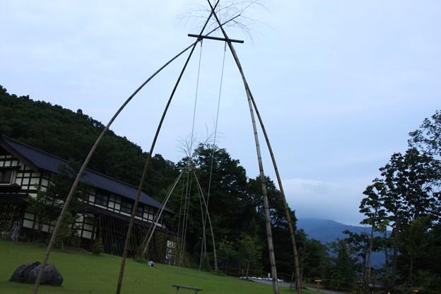 竹のぶらんこ(1) 湯涌創作の森