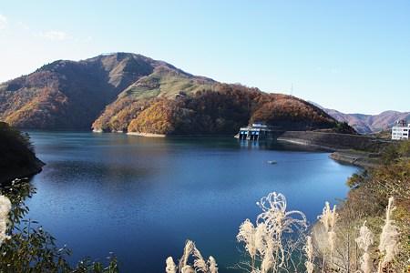 晩秋の九頭竜湖(3)