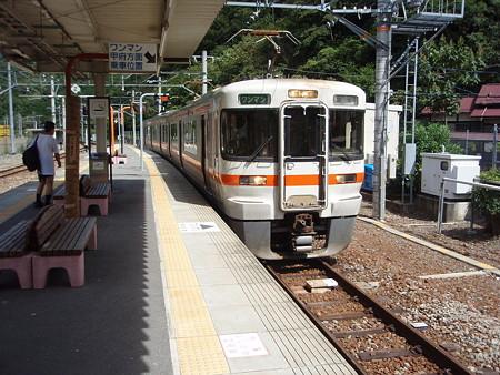 313系身延線(下部温泉駅)