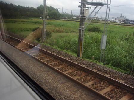 373系特急ふじかわ車窓