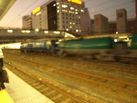 EH200+タキ1000(八王子駅)
