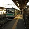 205系埼京線(指扇駅)