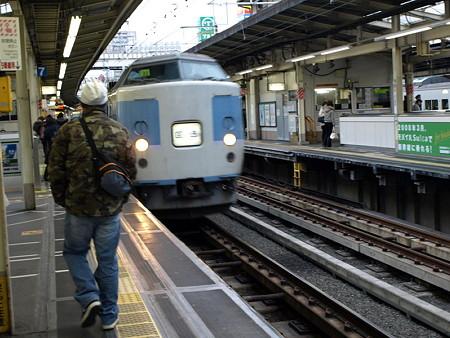 189系(横浜駅9番線)