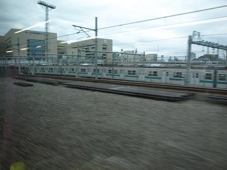 湘南新宿ライン車窓(大崎手前)