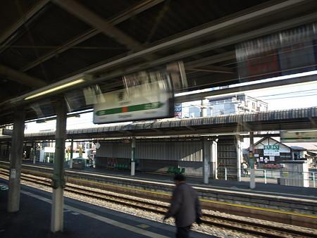 快速アーバンの車窓(桶川駅)