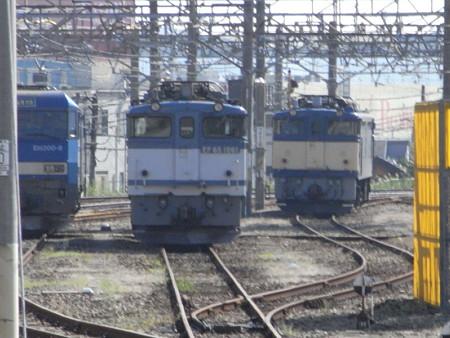 電気機関車たち(八王子駅)