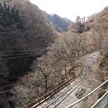 Photos: 吾妻線の車窓「樽沢トンネル」(岩島から川原湯温泉)