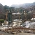 写真: 吾妻線の車窓(川原湯温泉から長野原草津口)