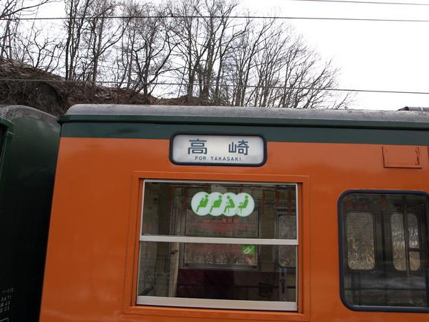 写真: 115系(大前駅)
