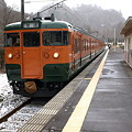 Photos: 115系吾妻線(大前駅)