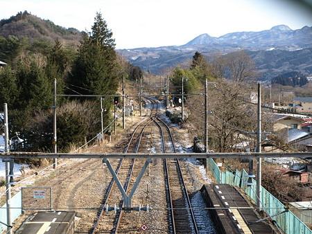 岩島駅(跨線橋から)
