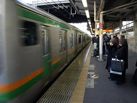231系東海道線(横浜駅6番線)