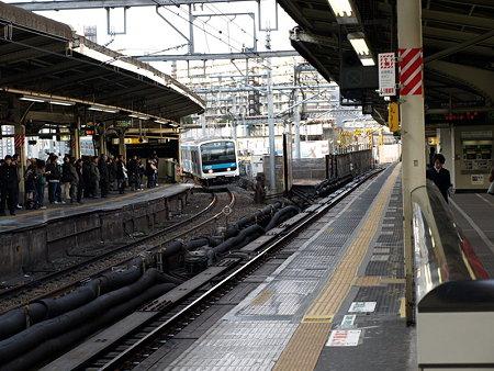 209系京浜東北線北行(横浜駅4番線)
