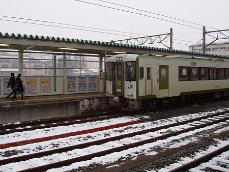 キハ110系(会津若松駅)