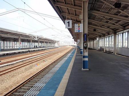 福山駅1番線