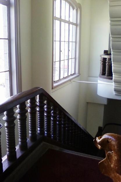 Photos: 階段はまるで洋館