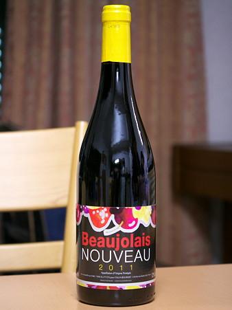 Beaujolais Nouveau 2011(Collin Bourisset)