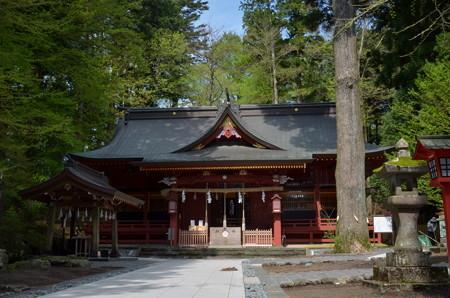 東口本宮浅間神社・拝殿