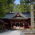 写真: 東口本宮浅間神社・拝殿