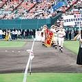 写真: 第90回高校野球県予選大会開会式5