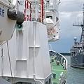 写真: 米海軍掃海艇がやってきた!11