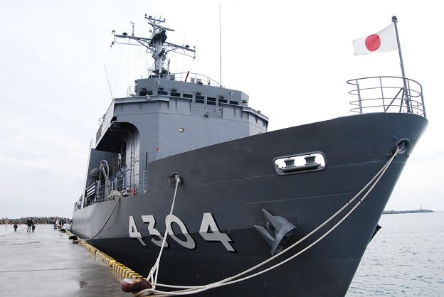写真: 海自・多用途支援艦「げんかい」(AMS4304)14