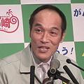写真: 東国原英夫宮崎県知事退任式3