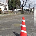 Photos: 【新燃岳バスプロ携帯より】報道の車は
