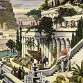 写真: バビロンの空中庭園