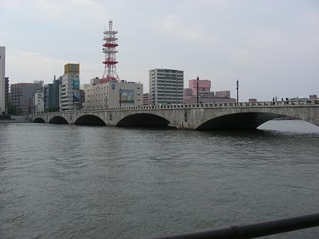 萬代橋の風景