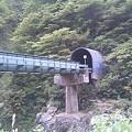 写真: 赤芝峡を越える米坂線その1