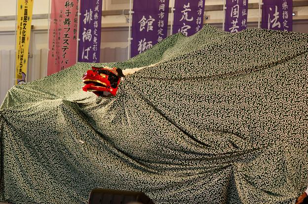 国文祭・獅子舞。