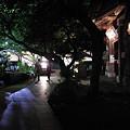 Photos: 夜宴の道