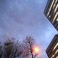 Photos: 予雨の街空