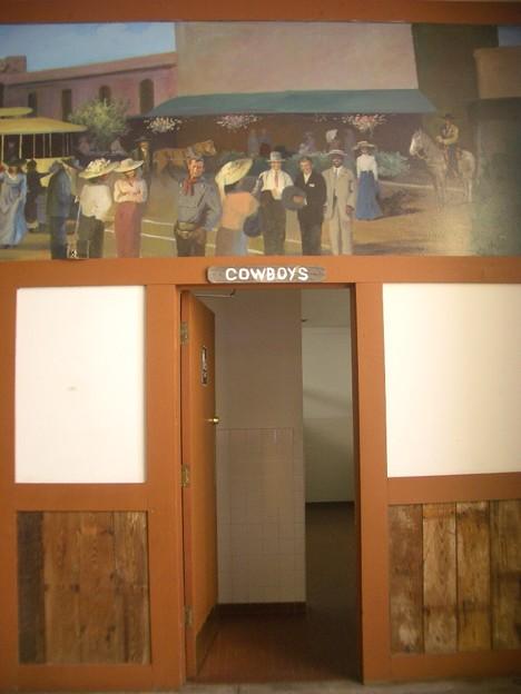 COWBOYのトイレ
